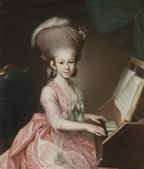 Portrait of a Young Lady at the Clavichord