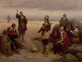 The Landing of the Pilgrim Fathers