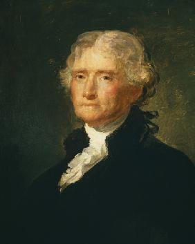 Portrait of Thomas Jefferson (1743-1826) third President of the United States of America (1801-1809)