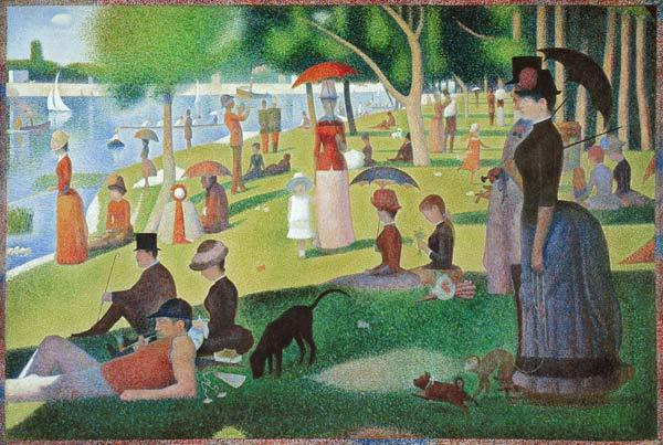 Seurat, Georges : A Sunday afternoon on the ...