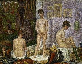 G.Seurat, The models (small version)