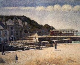 The Harbour and the Quays at Port-en-Bessin