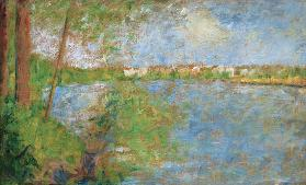 G.Seurat / Spring at the Grande Jatte
