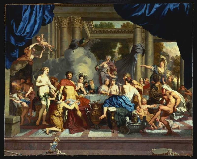 The Wedding Of Peleus And Thetis Gerard De Lairesse As