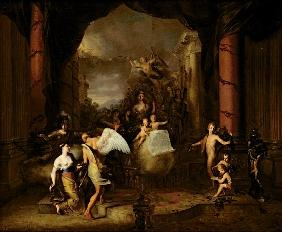 Allegory of the city of Amsterdam