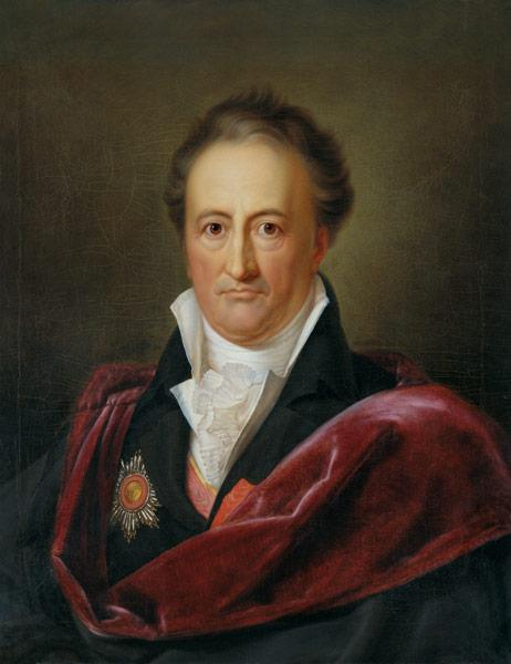 Portrait of the author Johann Wolfgang von Goethe (1749-1832)