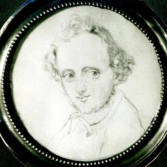 Image:  German School - Felix Mendelssohn (1809-47)