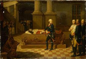 Frederick II in the Elector''s Crypt