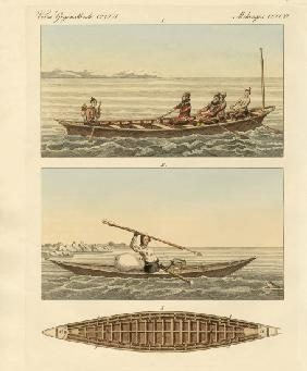 Boats of the Greenlanders