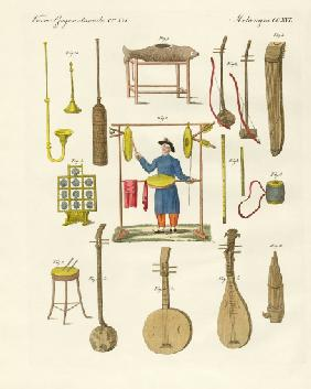 Musical instruments of the Chinese
