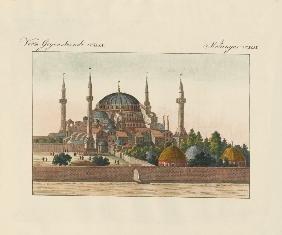 Saint-Sophia Cathedral in Constantinople
