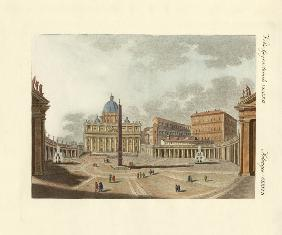 The St. Peter's Cathedral in Rome