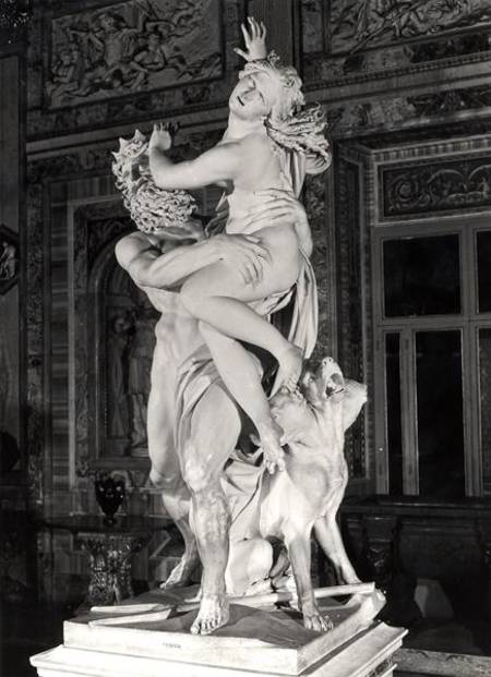 Pluto And Proserpina Gianlorenzo Bernini As Art Print Or