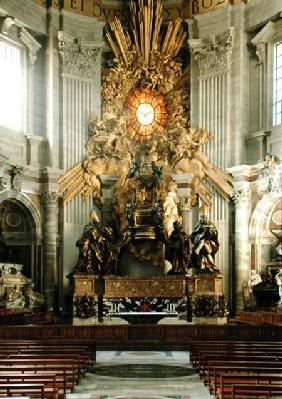 The chair of St. Peter