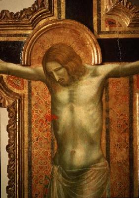 Crucifix, detail of Christ