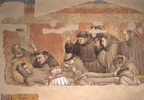 The Death of St. Francis, ...