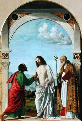 Doubting Thomas with St. Magnus