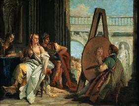 Alexander of the great and Campaspe in the studio of Apelles I.