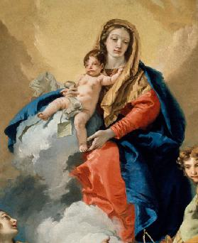 Mary and Child / Tiepolo