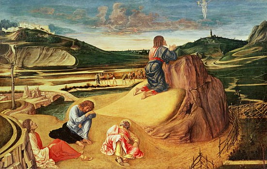 the agony in the garden giovanni bellini as art print or hand painted oil
