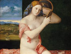 Bellini, Giovanni : Young woman at the toilet
