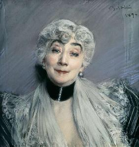 Portrait of the Countess de Martel de Janville, known as Gyp (1850-1932)