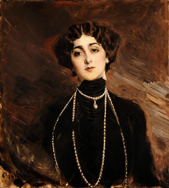 Portrait Of Lina Cavalieri