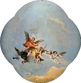G.D.Tiepolo / Triumph of Peace / c.1749
