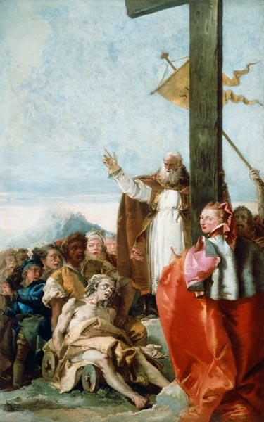 G.D.Tiepolo / Identification of Cross