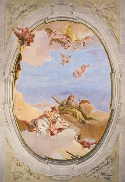 G.D.Tiepolo / Triumph of the Arts / C18