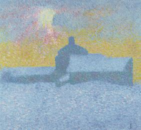 Giacometti, Giovanni : Winter Fog (Winter in Malo...