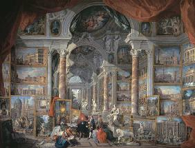 Pannini, Giovanni Paolo : Gallery with Views of Mode...