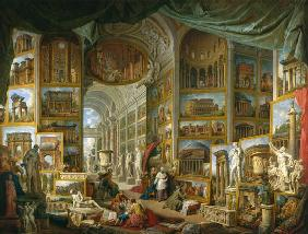 Pannini, Giovanni Paolo : Gallery of Views of Ancien...
