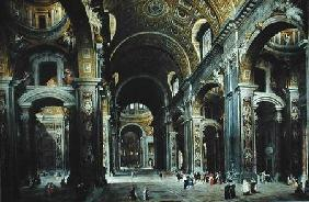 Cardinal Melchior de Polignac (1661-1742) Visiting St. Peter's in Rome