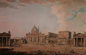 Pannini, Giovanni Paolo : St. Peter's, Rome