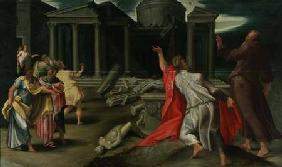 Scene from the life of St. John the Evangelist