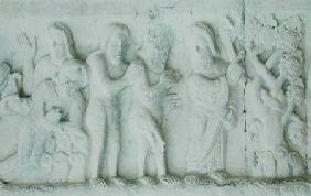 Relief from the west portal