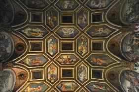 Ceiling decoration of the Camera dei Venti (Chamber of the Winds)