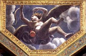 Cupid, ceiling caisson from the Sala di Amore e Psyche