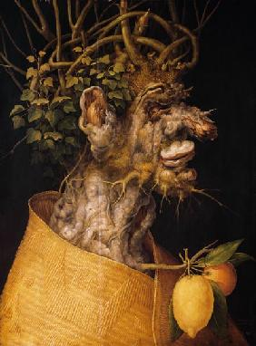 Arcimboldo, Giuseppe : The winter