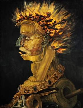 Arcimboldo, Giuseppe : The fire