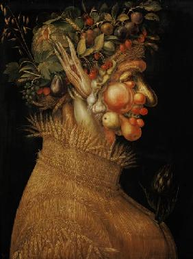 Arcimboldo, Giuseppe : The summer