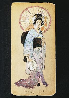 Costume for Butterfly in Act I of Madama Butterfly by Giacomo Puccini