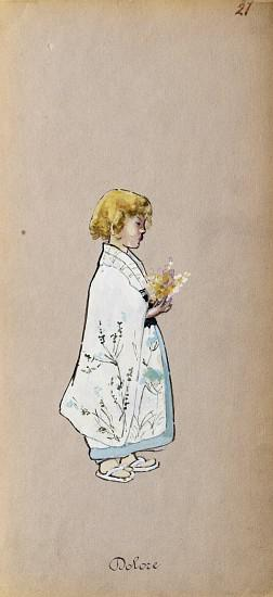 Costume for Dolore from Madama Butterfly by Giacomo Puccini