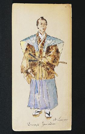 Costume for Prince Jamadori from Madama Butterfly by Giacomo Puccini