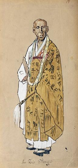 Costume for Uncle Bonze in Madama Butterfly by Giacomo Puccini