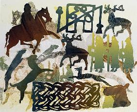 Ancient Travellers, 1995 (monotype)