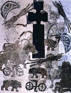 St. Vigeans, 1993 (monotype)