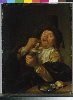 Schalcken, Godfried : The gourmet