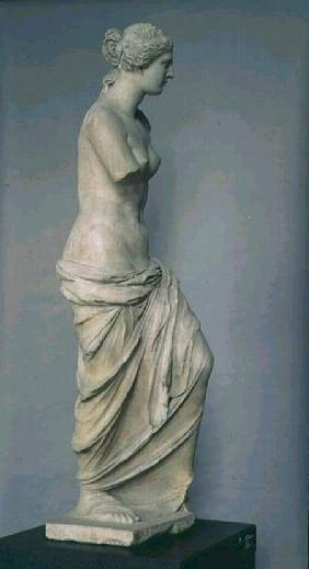 Venus de Milo, side view, Greek, Hellenistic period